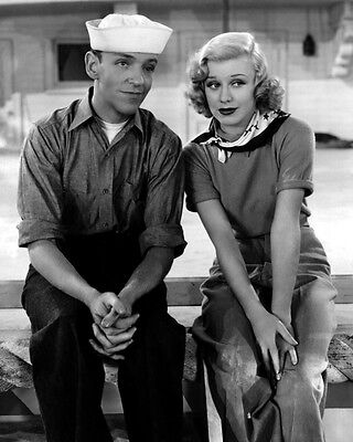 """New 8x10 Photo: Dance Icons Fred Astaire & Ginger Rogers in """"Follow the Fleet"""""""
