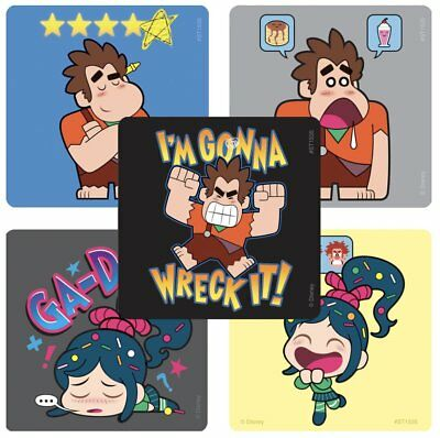 25 Wreck it Ralph breaks the internet Stickers Party Favors Teacher Supply