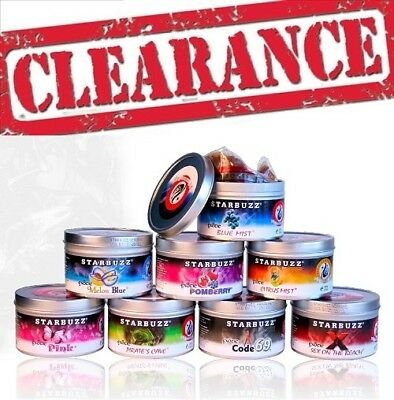 Starbuzz Available Flavours And Sizes In 100% Original Package