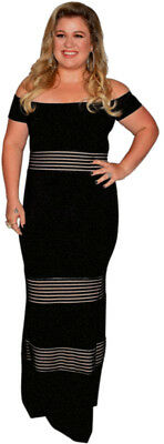 KELLY CLARKSON - THE VOICE Full Body Standing Pose - Window Cling Sticker Decal