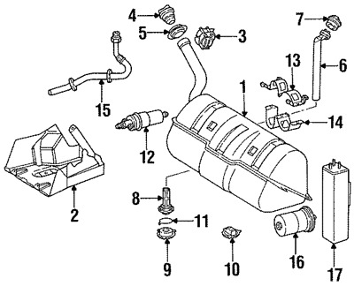 2003 Mercedes Benz E320 Fuel Filter Location