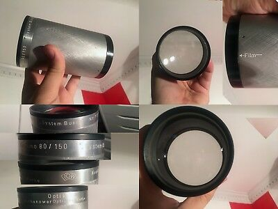 Neokino 80/150mm System Busch Projection,projector Lens for Sony FE,E,Fuji GFX