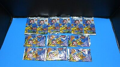 12 Sealed Packs 1996 Fleer X Men 6 Cards Per  Pack Marvel No Box Wolverine Foil