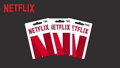 Netflix Gift Card Digital Code 20$ 25$ 50$ 75$ 100$ |Immediato| Funziona Ovunque
