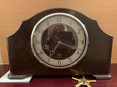Westminster Chimes Cclock Mantle/Antique
