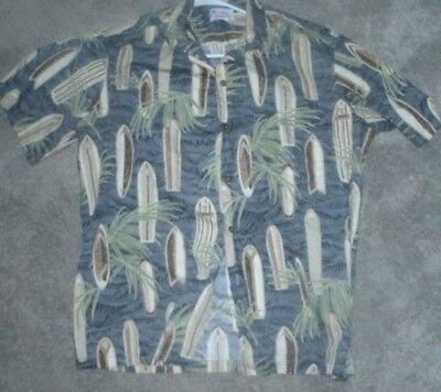 Men's Hawaiian Shirt' Made In Hawaii' Size X- Large