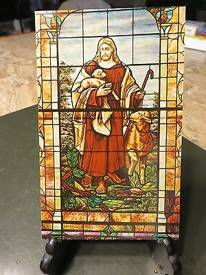 Madison South Dakota First Methodist Church West Stained Glass Window Postcard
