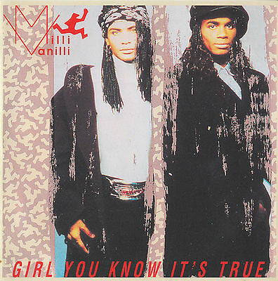 MILLI VANILLI - Girl You Know It's True CD RARE Baby Don't Forget My Number