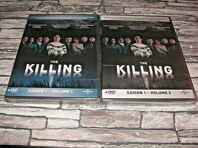The Killing Integrale Saison 1 / Volume 1 + Volume 2 / 2 Coffret 8 Dvd Serie Tv