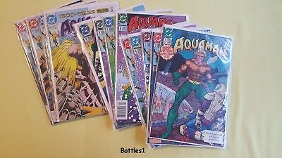 AQUAMAN Return of The King: Complete Run (#1 - #13) Second Series 1991 : Movie
