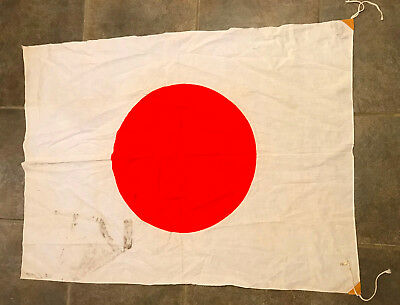 WWII Japanese Meatball Flag Military Japanese