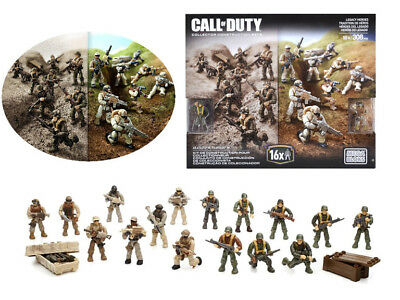 Mega Bloks CALL OF DUTY Legacy Heroes Collector Construction Set 308 Army Blocks