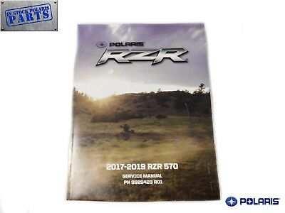 2018 2019 Polaris RZR RS1 Genuine OEM Authentic Service Repair Manual 9928689