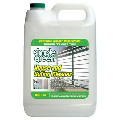 Simple Green 128 oz. House and Siding Cleaner Pressure Washer Concentrate