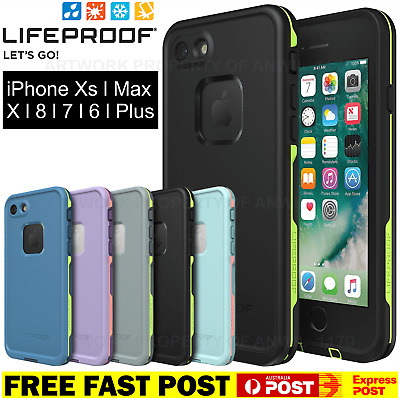 ✅ Lifeproof FRE iPhone X XS MAX 8 7 6 S Plus + Case Cover Waterproof Drop Proof