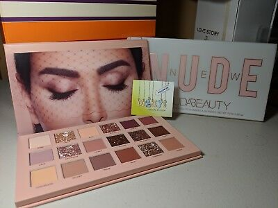 HUDA BEAUTY 'The New Nude' Eyeshadow Palette ~ 100% AUTHENTIC ~ 2018 Holiday
