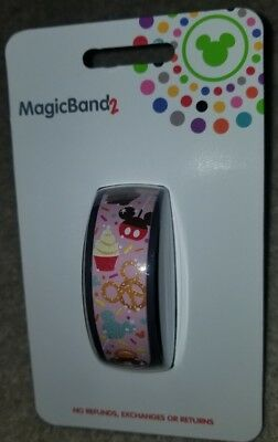 NEW Disney Parks Food Snacks Pretzel Mickey Ice Cream Bar Magic Band LINK LATER
