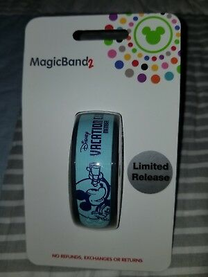 NEW 2018 Disney Vacation Club DVC Magic Band 2 Mickey Mouse Limited Release