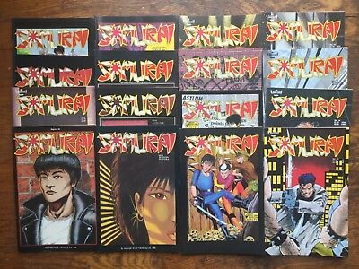 Samurai #s 1-16,1st Series,Aircel,16 Issues -VF/NM,Combined Shipping!