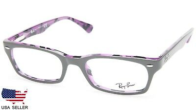 4784ce4e22 RAYBAN RB 5150 Rx 5489 Violet Plastic Eyeglasses Frame 50-19-135 New ...