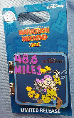 Pin Run WDW Walt Disney World Marathon Weekend Dopey Challenge LR 2019 I Did It!