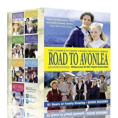 Road To Avonlea: The Complete Series DVD Seasons 1-7 Box Set Free USPS Shipping