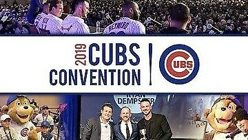 Ticket  To 2019 Chicago Cubs Convention-3 Day Pass