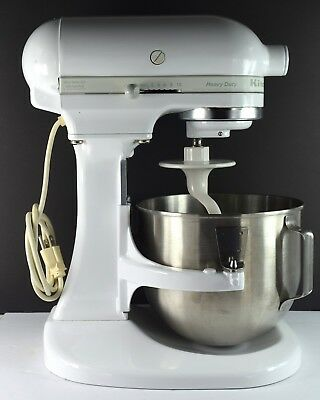 KITCHENAID HEAVY DUTY Stand Mixer K5Ss White With ...