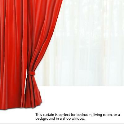 Solid Lined Heavy Thick Blackout Window Curtain Drape Treatment Panels Polyester