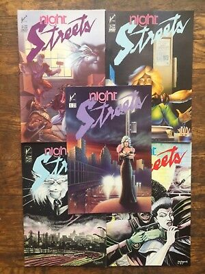Nightstreets #s 1-5,Complete Series,5 Issues -VF/NM,Combined Shipping!