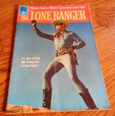 Vintage Dell THE LONE RANGER Comic Book JULY 1961 Vol. 1 No. 140