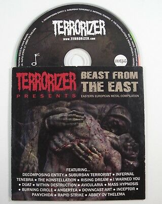 TERRORIZER Beast From The East Compilation CD European Heavy Black Death Metal