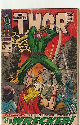 Mighty Thor #148 Silver Age Reading Copy Marvel