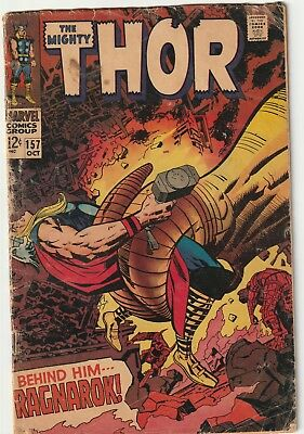 Mighty Thor #157 Silver Age Reading Copy Marvel