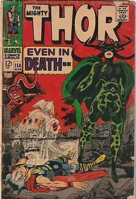 Mighty Thor #150 Silver Age Reading Copy Marvel