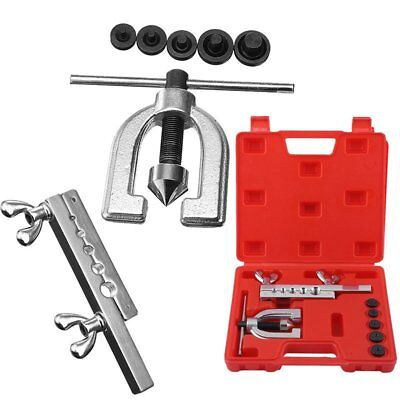 Brake & Air Line Double Flaring Tool Kit Water Gas Line Automotive Plumbing TO