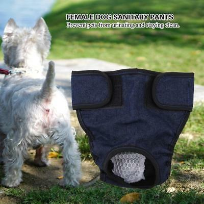 XS-XL FeMale Pet Dog Puppy Wrap Diaper Nappy Pants Sanitary Menstrual Underwear