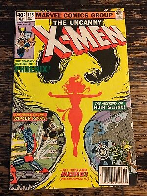 "X-MEN #125 1ST Mutant X ""PROTEUS"" (Marvel, 1979) Free Combine Shipping"