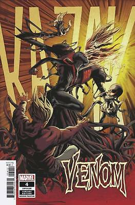 VENOM #4 2nd PRINT VARIANT COVER DONNY CATES SOLD OUT MARVEL COMIC BOOK - NM