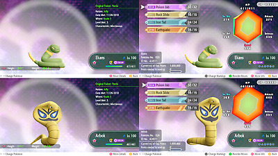 Pokemon Let's Go Eevee All Version Exclusives Shiny 6IV / MAX AV [Fast Delivery]