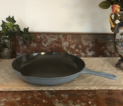 "Vintage Le Creuset Enameled Cast Iron Double Spout 12""  #30   Made in France"