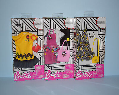 Assorted Peanuts Charlie Brown Snoopy Dress, Jumper or Romper BARBIE Fashion
