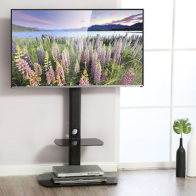 Fitueyes Cantilever Tv Stand With Swivel Mount For 32 To 65 Inch Lcd