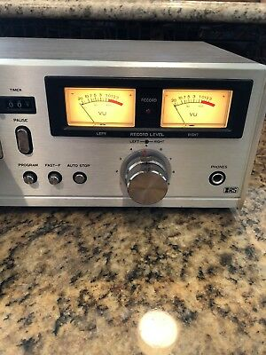 Realistic TR-883 8 Track Tape Deck Player Recorder Vintage Made in Japan