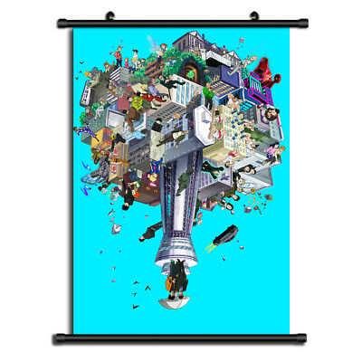 Mob Psycho 100 Anime HD Canvas Print Wall Poster Scroll Home Decor Cosplay