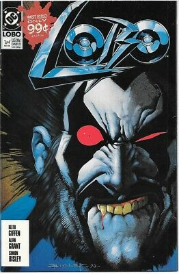 Lobo Comic Book Limited Series #1 DC Comics 1st Print 1990 NEAR MINT NEW UNREAD