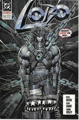 Lobo Comic Book Limited Series #3 DC Comics 1991 NEAR MINT NEW UNREAD