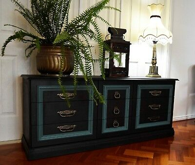 French Provincial Buffet Sideboard Tv Stand Side Table Hall