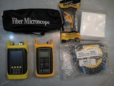 OwlTrek OTDR Tool Kit (1310/1550nm Singlemode w/ Integrated VFL)