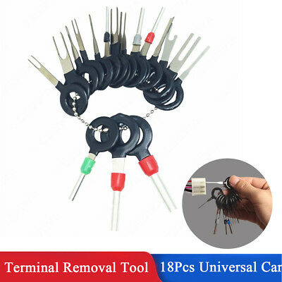 18x Car ATV Terminal Removal Tool Wiring Connector Extractor Release Pin Puller